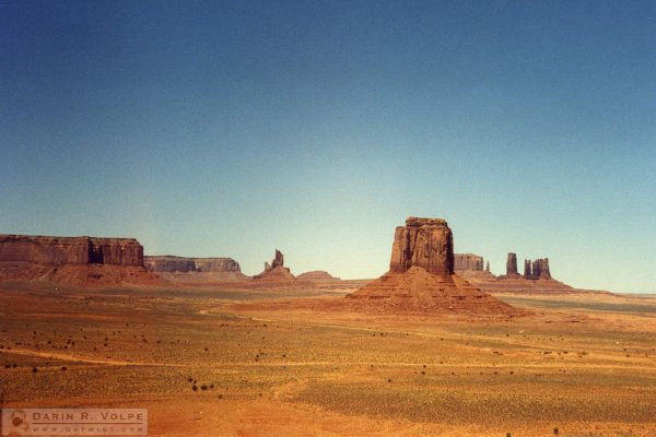 Monument Valley Utah, 1989
