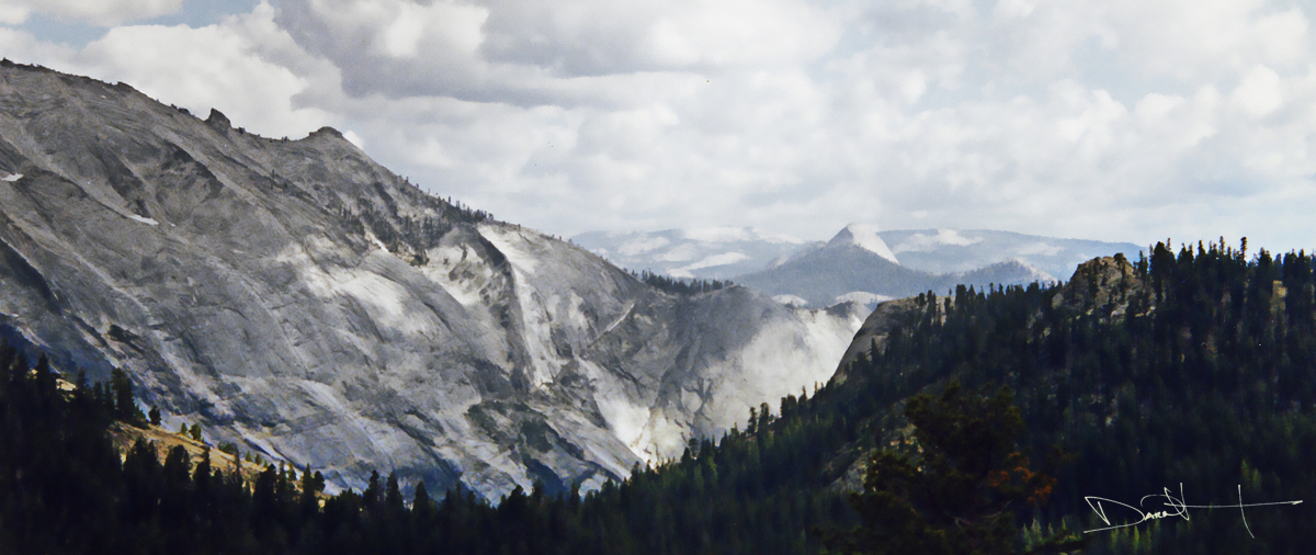 Half Dome from Olmsted Point [Yosemite National Park, California]