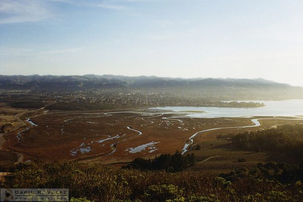 Morro Bay Estuary from Black Hill - 1991