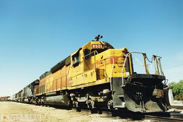 "Southern Pacific SD-40-2 in ""Kodachrome"" Paint Scheme. San Luis Obispo, CA - 1991"