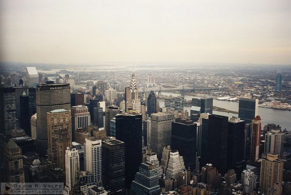 Chrysler Building from the Empire State Building - 1991