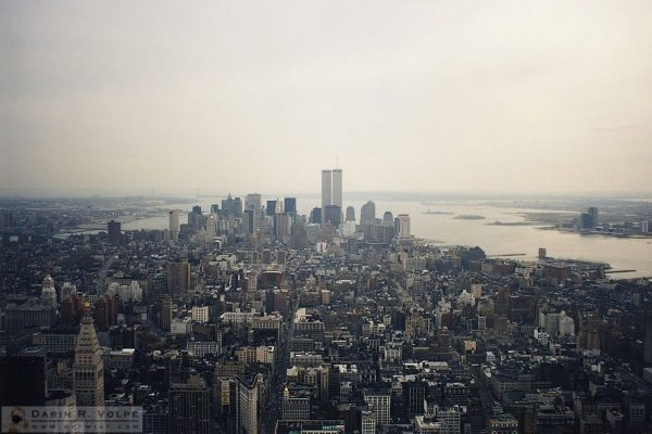 New York City from the Empire State Building - 1991