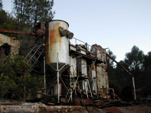 Rinconada Abandoned Mercury Mine - Santa Margarita, California - 2001