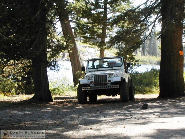 Dinky Lakes Jeep Trail near Huntington Lake, California - 2001
