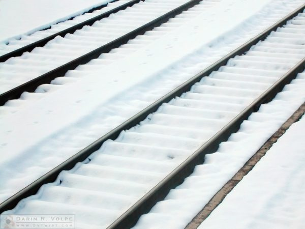 Rails in the Snow - Dunsmuir, California - 2005