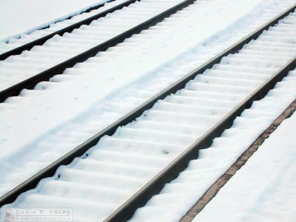 Rails in the Snow - Dunsmuir, California - 2005