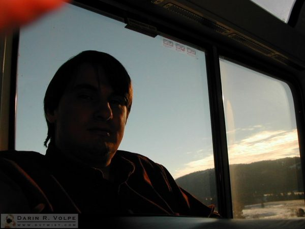 Me on the Empire Builder -2005