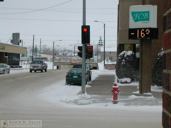 -16 Degrees in Glasgow, Montana - 2005