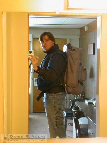 Me In My Motel, Glasgow, Montana - 2005