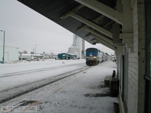 Amtrak Station - Glasgow, Montana - 2005