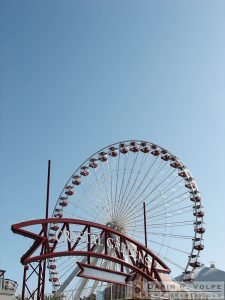 """The Big Wheel"" [Ferris Wheel on Navy Pier in Chicago, Illinois]"