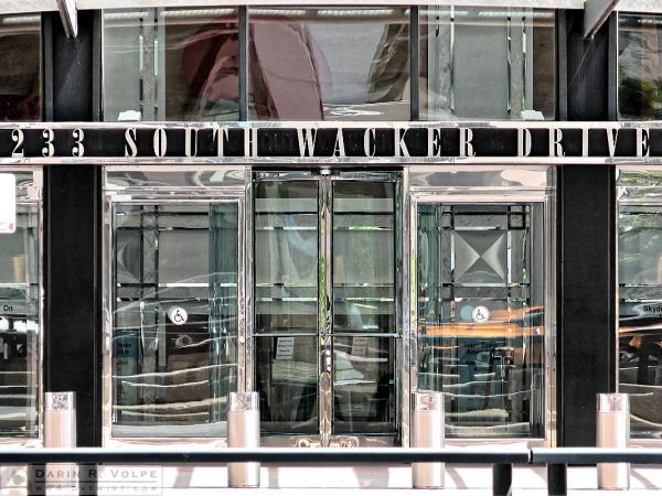 """233 South Wacker Drive"" [Sears Tower Entrance in Chicago, Illinois]"