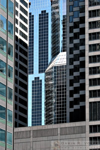 """Glass and Stone"" [Modern Architecture in Chicago, Illinois]"