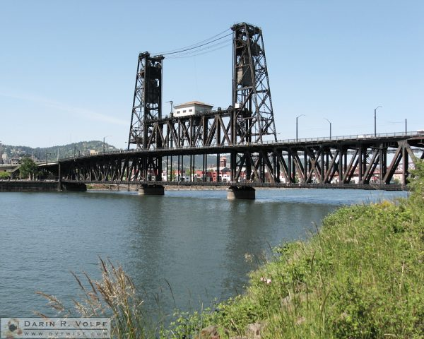 """Steel Bridge"" in Portland, Oregon"