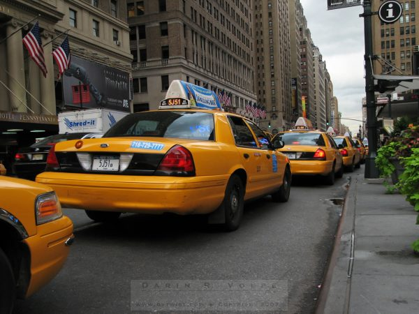 """An Endless Supply Of Cabs"" [Taxis In New York City]"