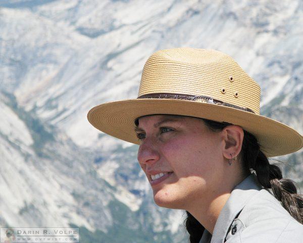 Ranger at Yosemite National Park