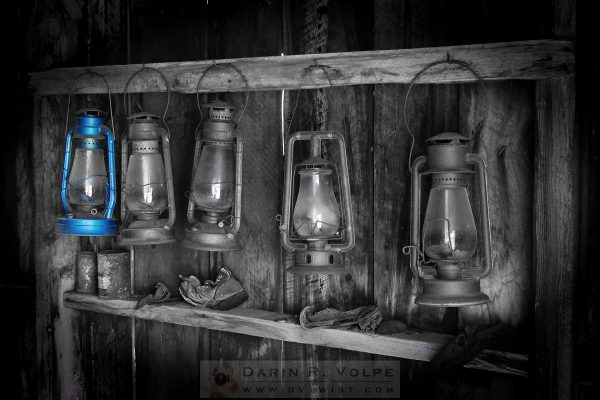 """Blue Lantern"" [Bodie State Historic Park]"