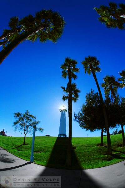 """Light and Shadow"" [Lions Lighthouse for Sight in Long Beach, California]"
