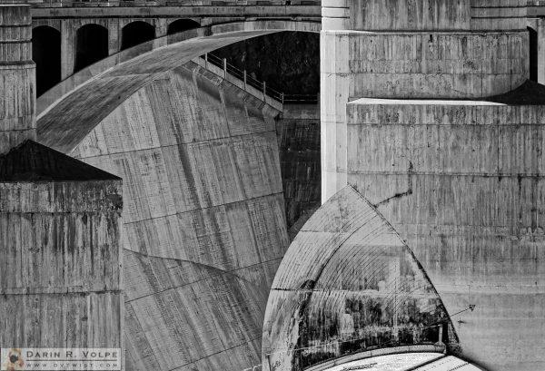"""Concrete Forms"" [Hoover Dam Arizona Spillway in Arizona]"