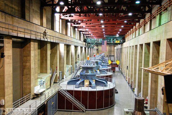 Hoover Dam, Nevada side powerhouse