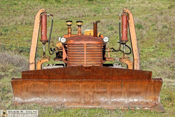 """Bug-Eyed"" [Abandoned Tractor in Alameda County, California]"