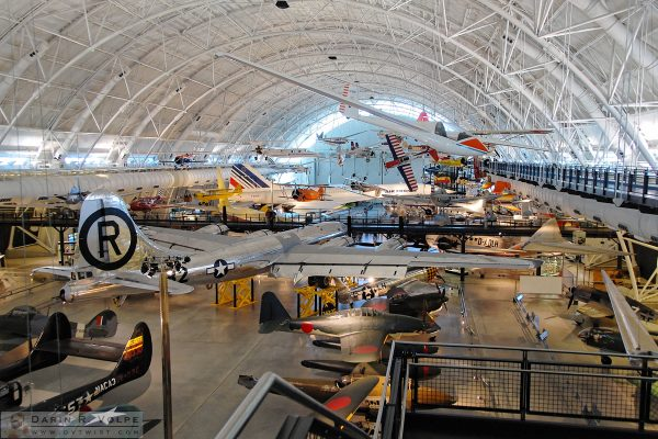 Smithsonian Institute's Steven F. Udvar-Hazy Center at Washington Dulles Airport