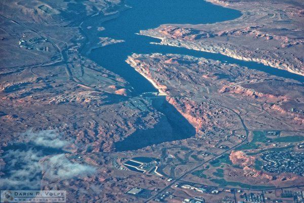 Glen Canyon Dam on the Colorado River.