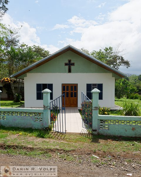 Church on Rt. 301, Costa Rica.