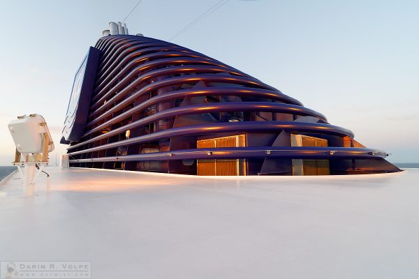 """Modern Design"" [Cruise Ship Funnel on the Norwegian Pearl]"