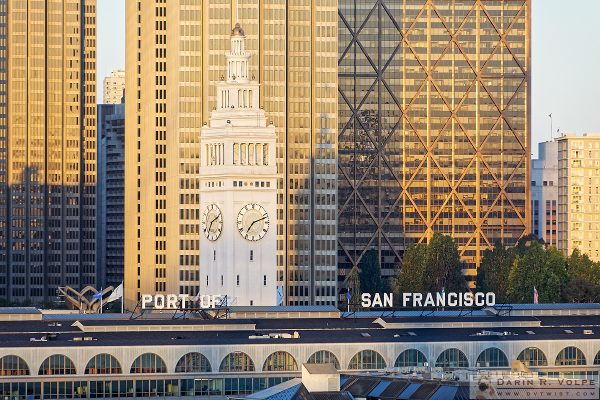 """Welcome to the City by the Bay"" [Ferry Building in San Francisco, California]"