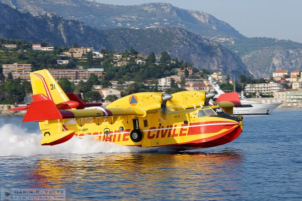 """Filling Up"" [Sea Plane in Villefranche-sur-Mer, France]"