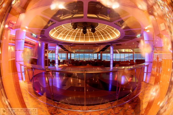 """The Fishbowl"" [Cruise Ship Lounge on the Brilliance of the Seas]"