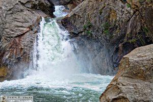 """Turbulence"" [Roaring River Falls in Kings Canyon National Park, California]"
