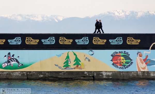"""Walking Together"" [The Unity Wall Mural in Victoria, British Columbia]"