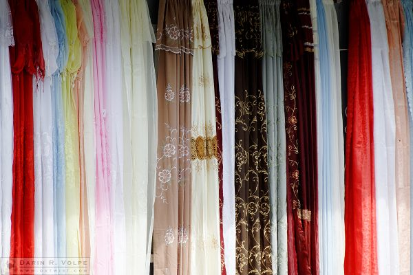 """Caribbean Color"" [Curtains for Sale in St. John, Antigua]"