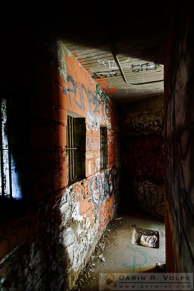 """Bedroom Hallway"" [Abandoned Zoo in Griffith Park, Los Angeles, California]"