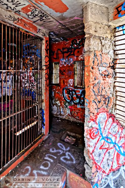 """Upstairs Bedrooms"" [Abandoned Zoo in Griffith Park, Los Angeles, California]"