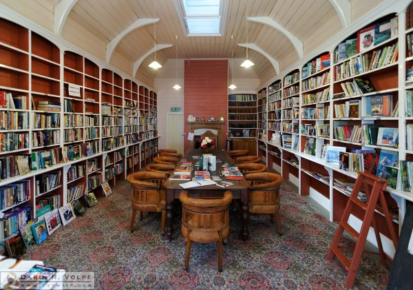 """Reading Room"" [Coronation Library in Akaroa, New Zealand]"
