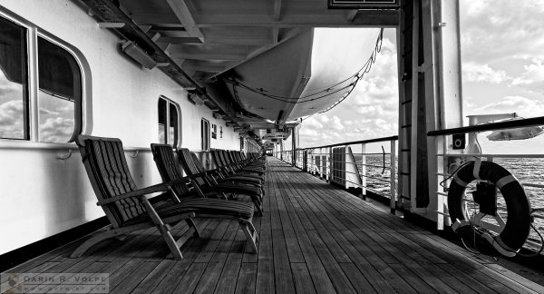"""The Promenade Deck"" [Cruise Ship MS Maasdam on the Atlantic Ocean]"