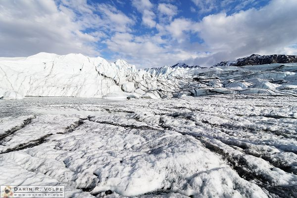 """River of Ice"" [Matanuska Glacier near Sutton, Alaska]"