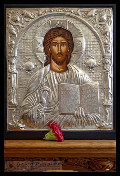 """Depiction of Christ"" [Saint Barbara Greek Orthodox Church in Santa Barbara, California]"