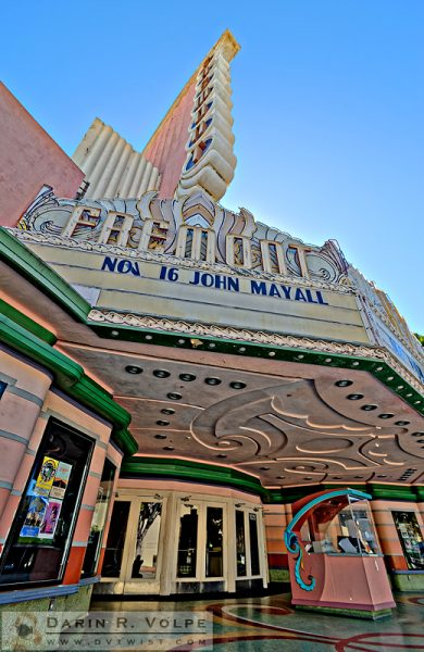"""Classic Cinema"" [Art Deco Movie Theater in San Luis Obispo, California]"