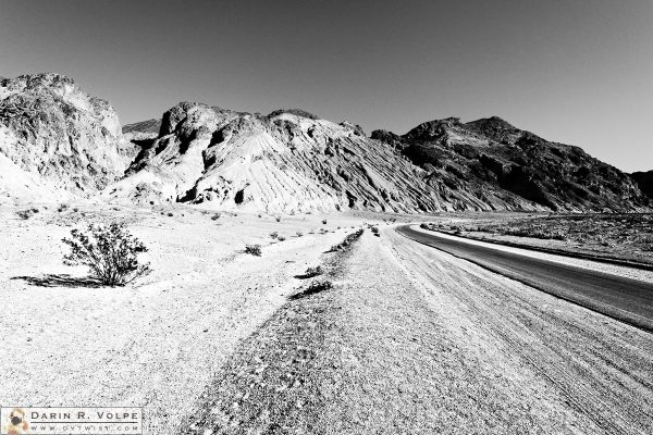 """Monochrome Palette"" [Artists Drive in Death Valley National Park, California]"