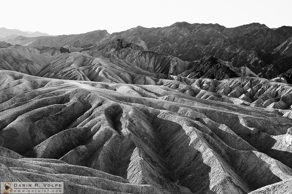"""Erosion"" [Zabriskie Point in Death Valley National Park, California]"