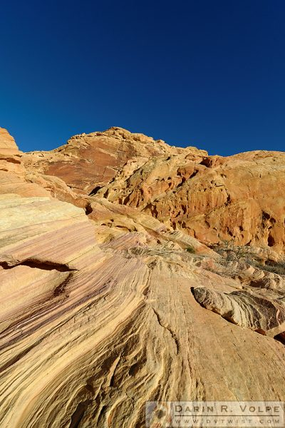"""Sedimentary Layers"" [Sandstone Rock Formations in Valley of Fire State Park, California]"