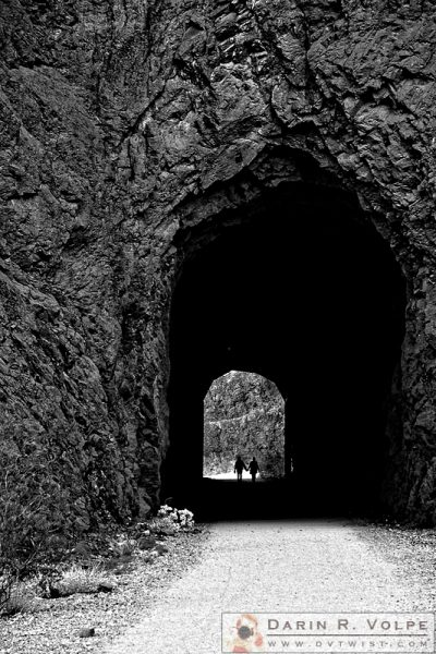 """Tunnel of Love"" [Historic Railroad Trail in Boulder City, Nevada]"
