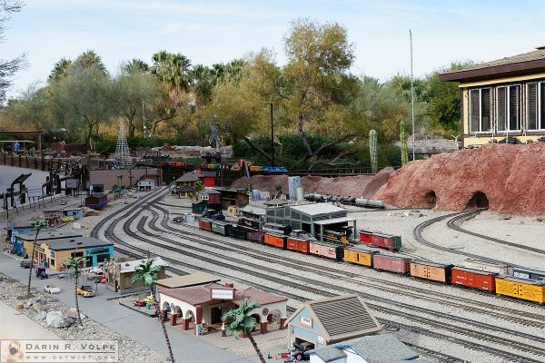 Model Railroad at the Living Desert Zoo and Gardens, Palm Desert, CA.