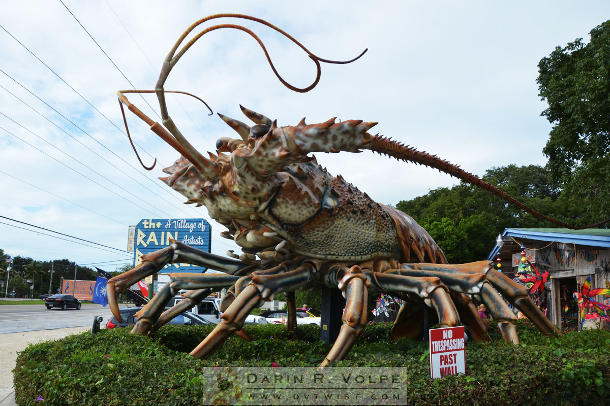 Big Betsy the Giant Lobster