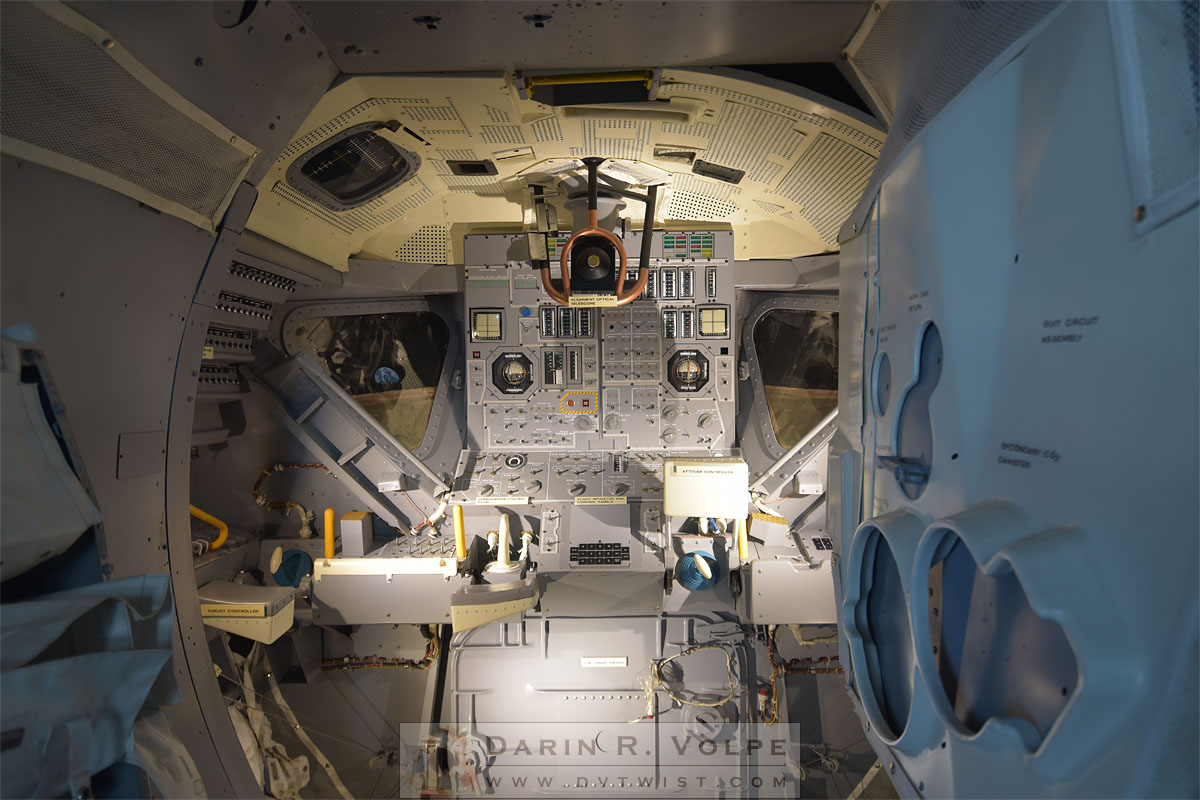 Lunar Excursion Module Interior