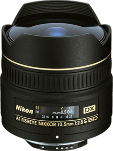 Nikkor 10.5mm Fisheye Lens